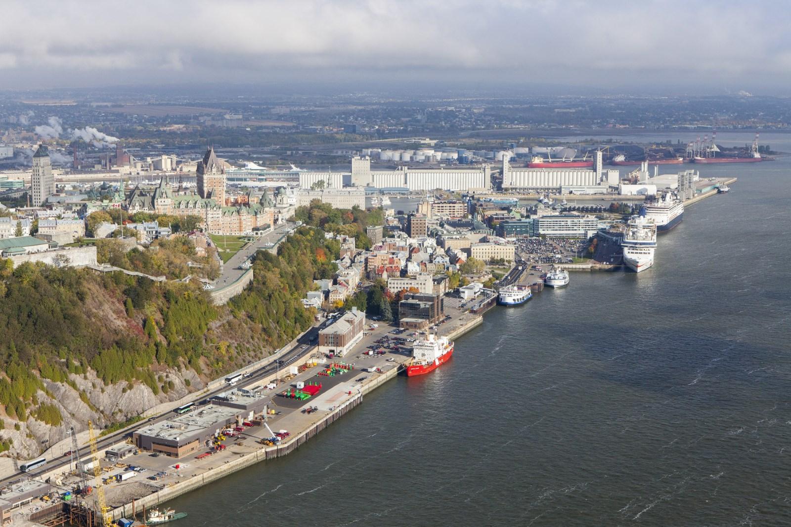 Puerto de quebec port de qu bec megaconstrucciones for Porte quebec