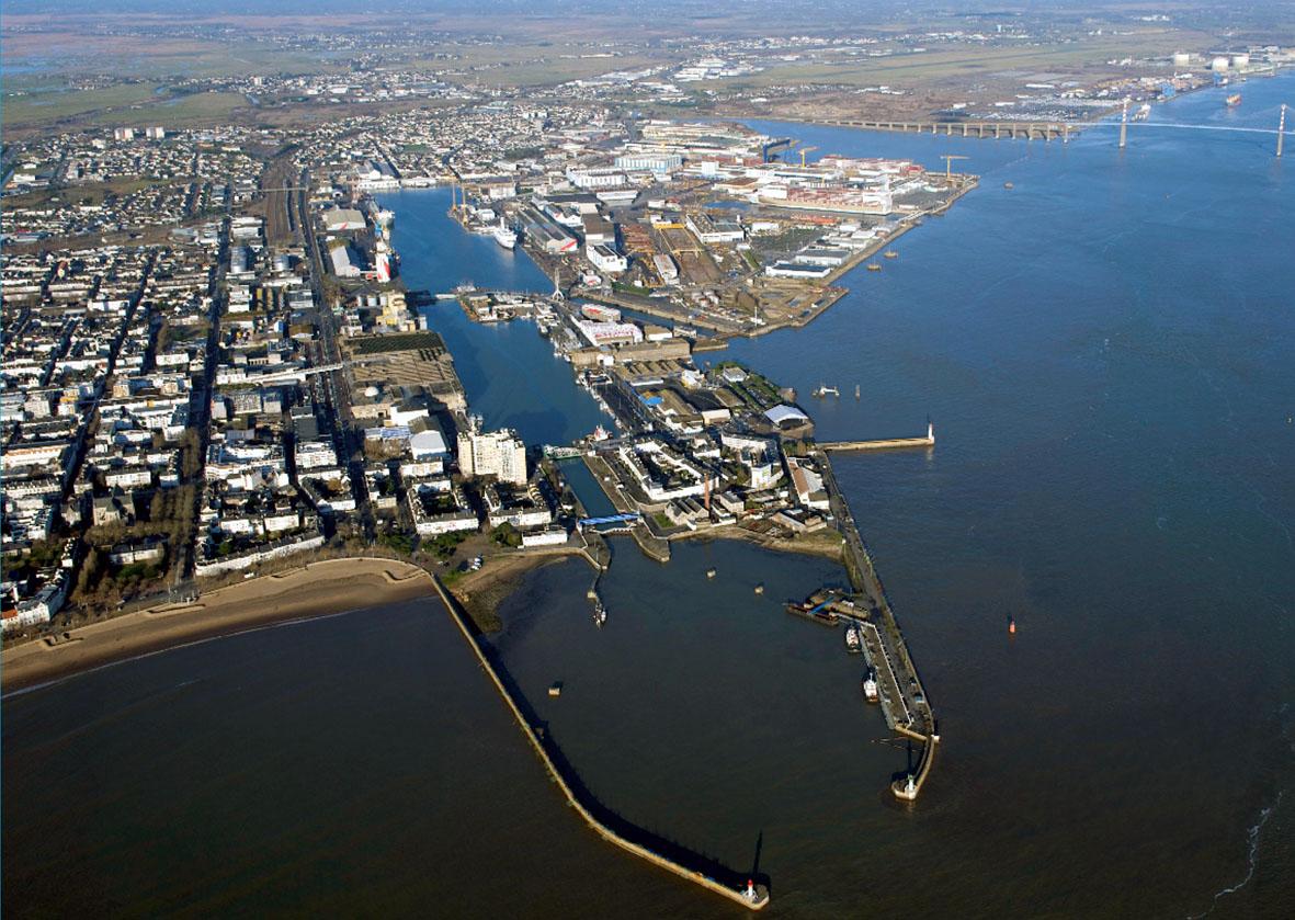 de nantes nazaire grand port maritime de nantes nazaire megaconstrucciones