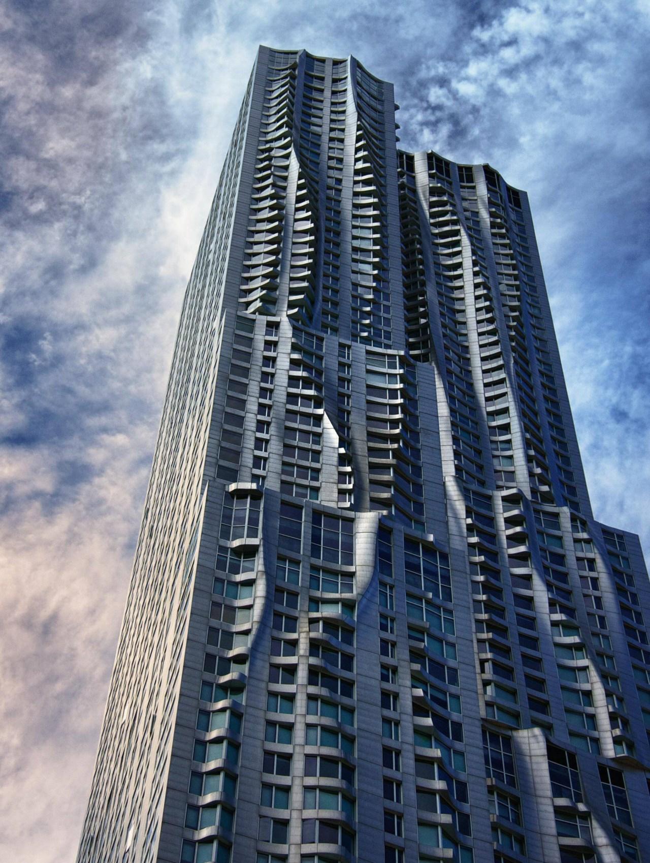 8 Spruce Street Torre Beekman Nueva York De Gehry