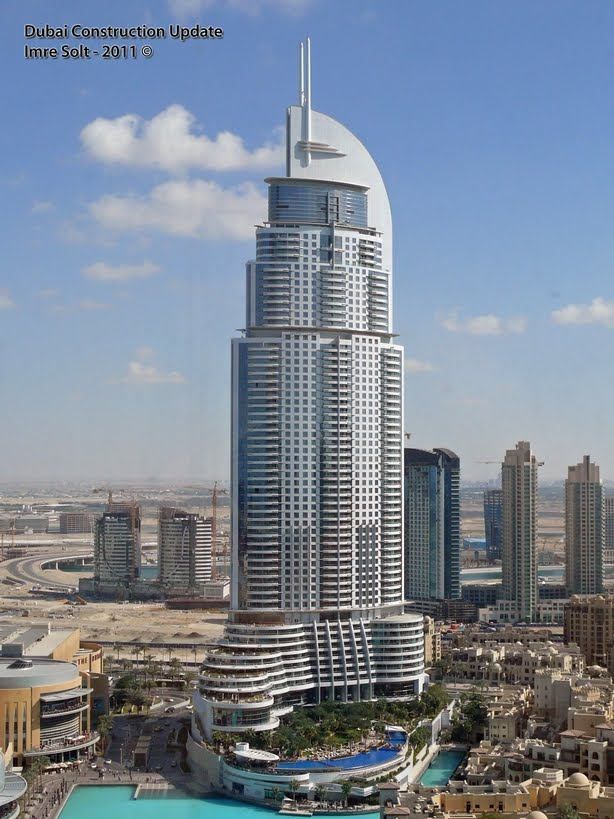 The address downtown dubai megaconstrucciones extreme for Address hotel dubai