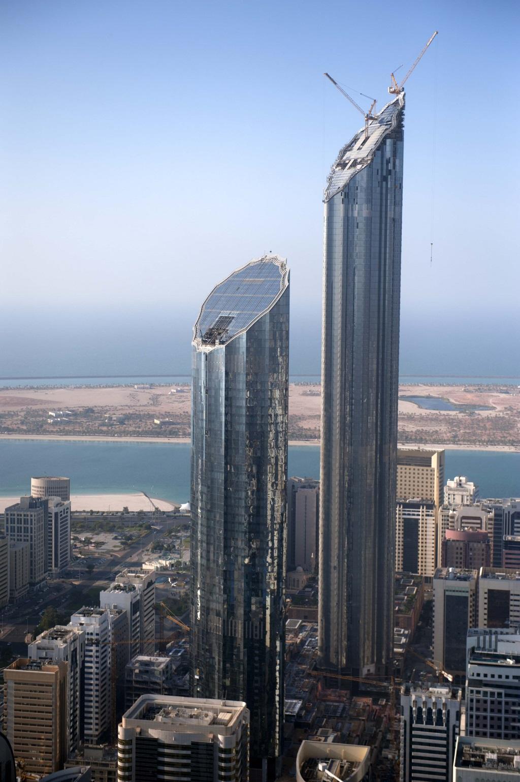 world trade center abu dhabi  domaintrust tower megaconstrucciones extreme engineering