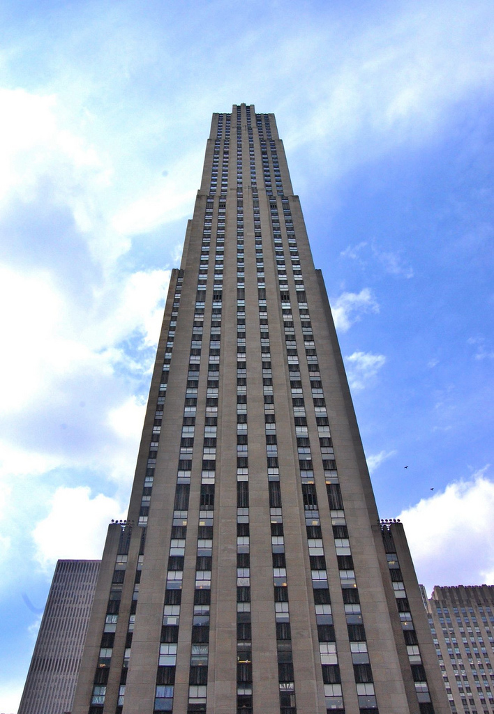 Comcast Building Ge Building Rca Building 30 Rock The