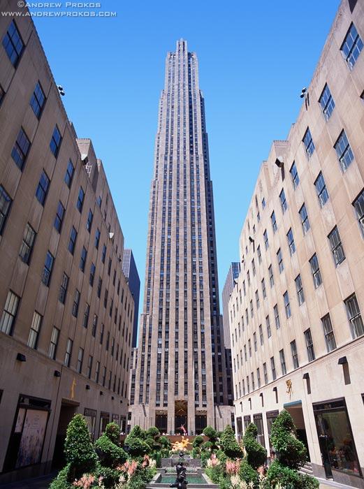 Comcast Building Ge Building Rca Building 30 Rock The