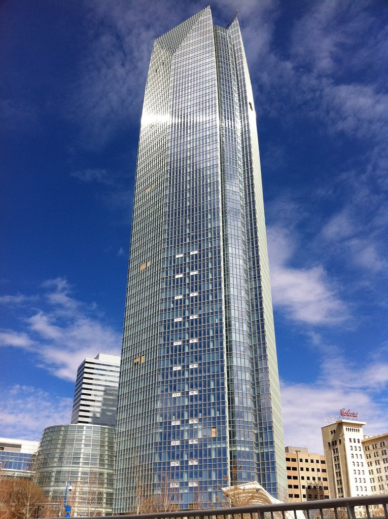 how tall is devon tower