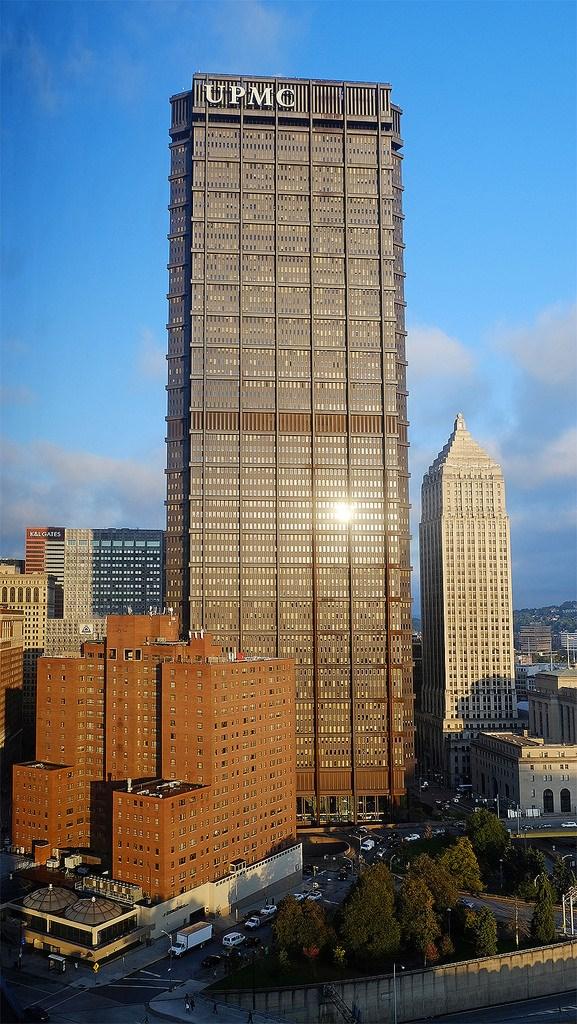 U S Steel Tower Steel Building Usx Tower