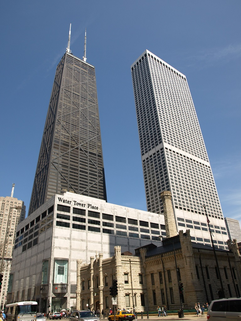 Boutiques In Chicago >> Water Tower Place - Megaconstrucciones, Extreme Engineering