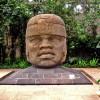 Cabeza Colosal 1 'El Rey'. San Lorenzo Tenochtitlán. Museo de Antropología de Xalapa. Cabezas colosales Olmecas 9